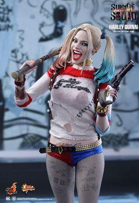 Imagen de Escuadrón Suicida Figura Movie Masterpiece 1/6 Harley Quinn 29 cm
