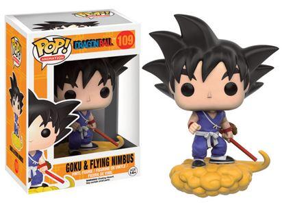 Imagen de Dragonball Z POP! Animation Vinyl Figura Goku and Flying Nimbus 9 cm