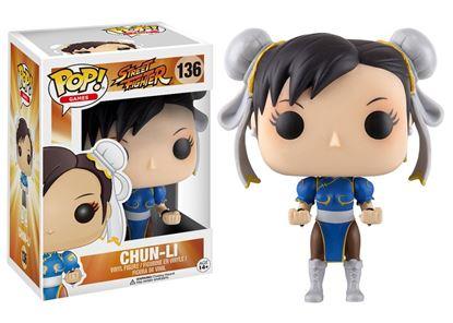 Imagen de Street Fighter POP! Games Vinyl Figura Chun-Li 9 cm