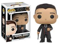 Imagen de Animales fantásticos POP! Movies Vinyl Figura Percival Graves 9 cm