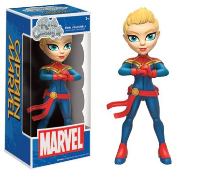 Imagen de Marvel Comics Rock Candy Vinyl Figura Captain Marvel 13 cm