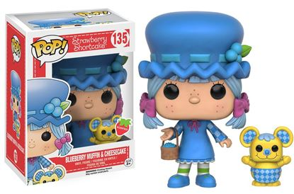 Imagen de Tarta de Fresa POP! Animation Vinyl Figura Blueberry Muffin & Cheesecake 9 cm