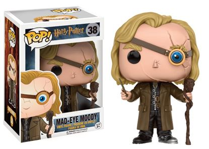 Imagen de Harry Potter POP! Movies Vinyl Figura Alastor 'Mad-Eye' Moody 9 cm