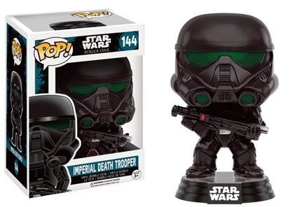 Imagen de Star Wars Rogue One POP! Vinyl Cabezón Imperial Death Trooper 9 cm