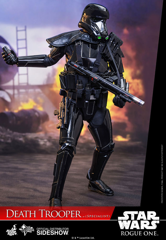 Imagen de Star Wars Rogue One Figura Movie Masterpiece 1/6 Death Trooper Specialist 32 cm