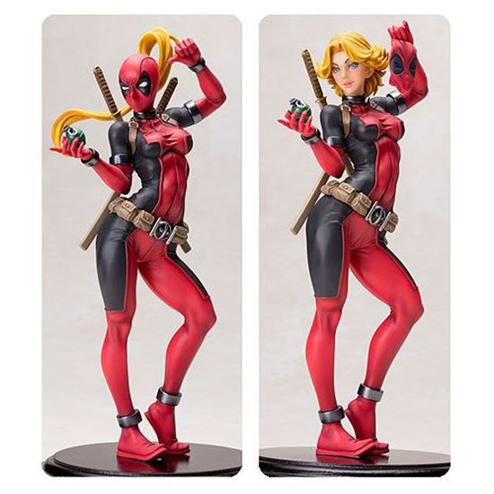 Foto de Marvel: Lady Deadpool Bishoujo Statue