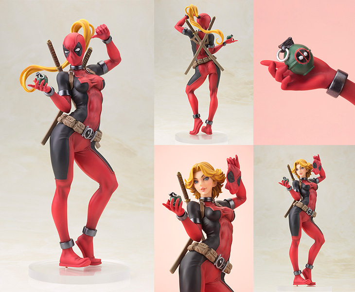 Imagen de Marvel: Lady Deadpool Bishoujo Statue