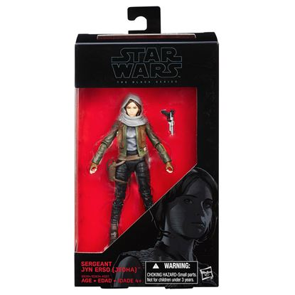 Imagen de Star Wars Rogue One Black Series Figuras 15 cm Sergeant Jyn Erso (Jedha)