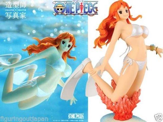 Foto de One Piece Nami swimsuit bikini Banpresto Creator x Creator