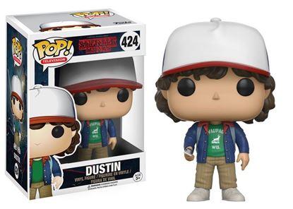Imagen de Stranger Things POP! TV Vinyl Figura Dustin 9 cm
