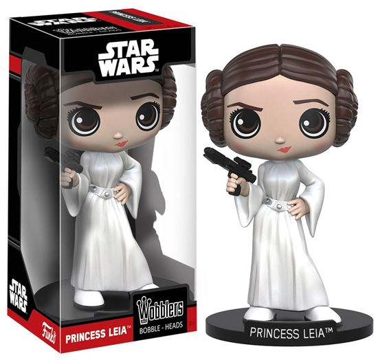 Foto de Star Wars Wacky Wobbler Cabezón Leia 15 cm