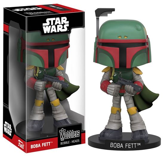 Foto de Star Wars Wacky Wobbler Cabezón Boba Fett 15 cm