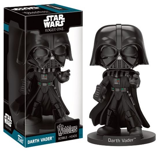 Foto de Star Wars Rogue One Wacky Wobbler Cabezón Darth Vader 16 cm