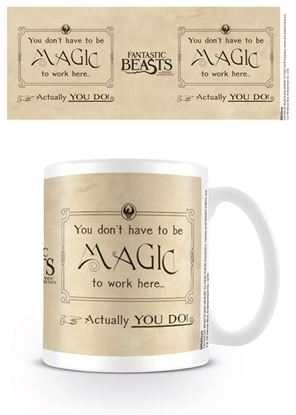 Imagen de TAZA HP FANTASTIC BEASTS MAGIC