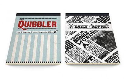 Imagen de LIBRO DE NOTAS Harry Potter: The Quibbler & Prophet A5