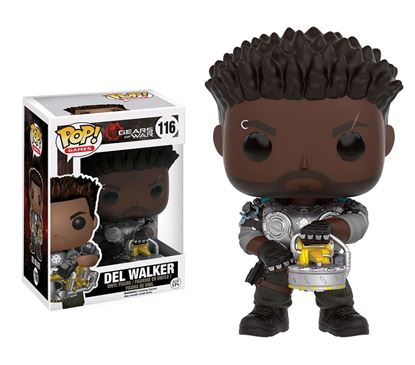 Imagen de Gears of War POP! Games Vinyl Figura Del Walker 9 cm