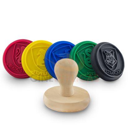 Imagen de Lote de 5 moldes de silicona para galletas - Harry Potter