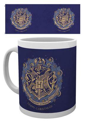 Imagen de Harry Potter Taza XMAS Hogwarts