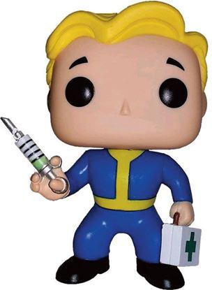 Imagen de Fallout POP! Games Vinyl Figura Vault Boy Medic 9 cm