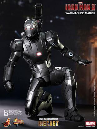 Imagen de Iron Man 3 Figura MMS Diecast 1/6 War Machine Mark II 30 cm