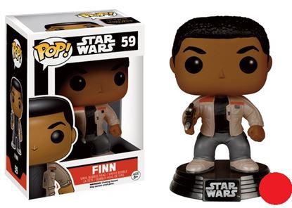 Imagen de Star Wars Episodio VII POP! Vinyl Cabezón Finn 10 cm
