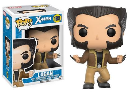 Imagen de X-Men POP! Marvel Vinyl Cabezón Logan 9 cm