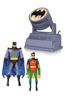 Imagen de Batman The Animated Series: Batman y Robin con Batseñal