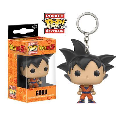 Imagen de Dragonball Z Llavero Pocket POP! Vinyl Goku 4 cm