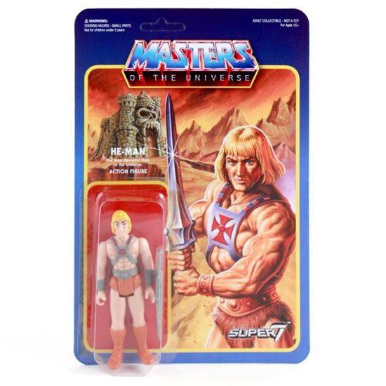 Foto de Masters del Universo ReAction Figura He-Man 10 cm