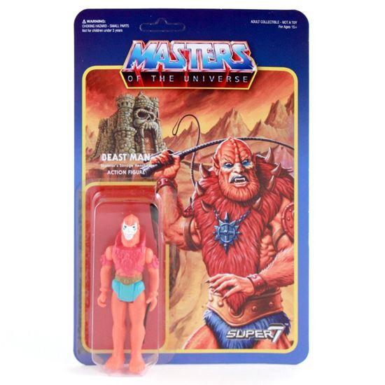 Foto de Masters del Universo ReAction Figura Beast Man 10 cm