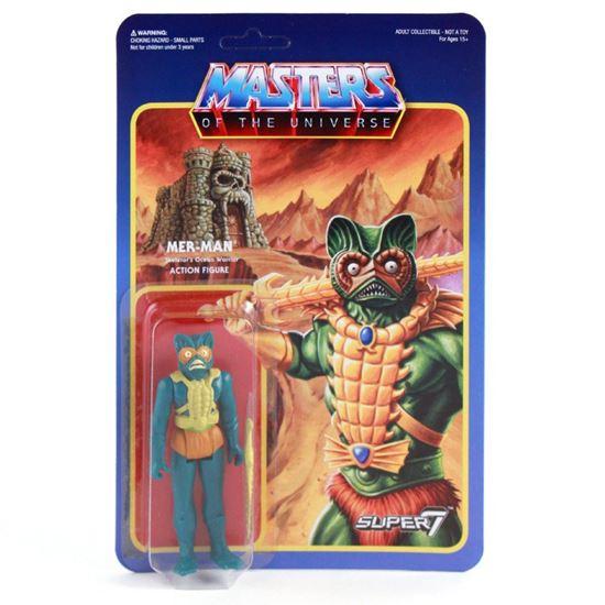 Foto de Masters del Universo ReAction Figura Mer-Man 10 cm