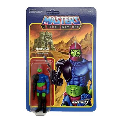 Imagen de Masters del Universo ReAction Figura Trap Jaw 10 cm