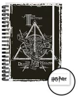 Imagen de Harry Potter Cuaderno A5 Deathly Hallows