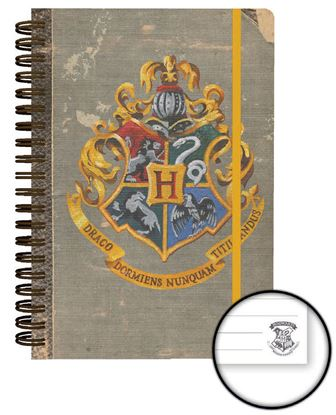 Imagen de Harry Potter Cuaderno A5 Hogwarts