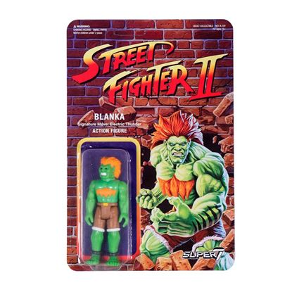 Imagen de Street Fighter II ReAction Figura Blanka 10 cm