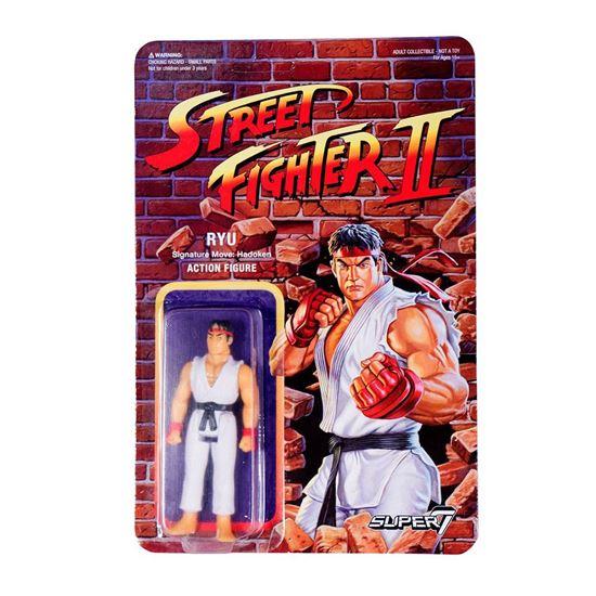Foto de Street Fighter II ReAction Figura Ryu 10 cm