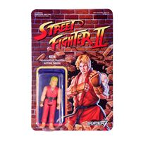 Imagen de Street Fighter II ReAction Figura Ken 10 cm