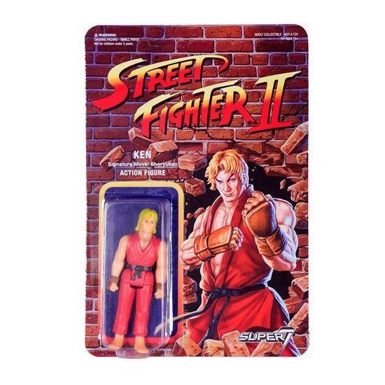 Foto de Street Fighter II ReAction Figura Ken 10 cm