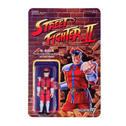 Imagen de Street Fighter II ReAction Figura M. Bison 10 cm