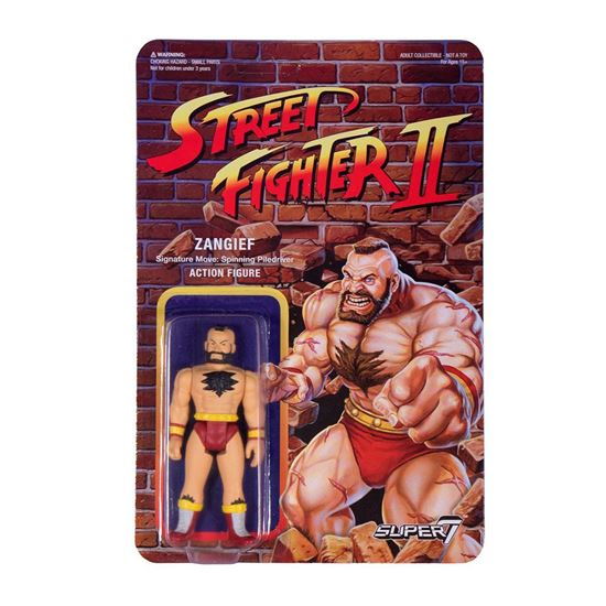 Foto de Street Fighter II ReAction Figura Zangief 10 cm