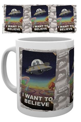Imagen de Rick y Morty Taza I Want To Believe