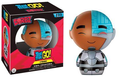 Imagen de Teen Titans Go! Vinyl Sugar Dorbz Vinyl Figura Cyborg 8 cm