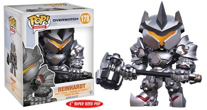 Imagen de Overwatch Super Sized POP! Games Vinyl Figura Reinhardt 15 cm