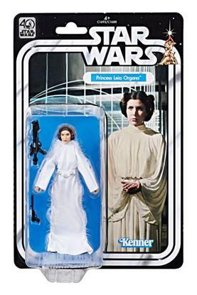 Imagen de Star Wars 40th Anniversary Black Series Figuras 15 cm Princesa Leia
