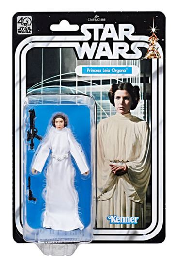 Foto de Star Wars 40th Anniversary Black Series Figuras 15 cm Princesa Leia