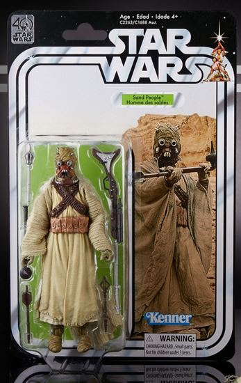 Foto de Star Wars 40th Anniversary Black Series Figuras 15 cm Sand People