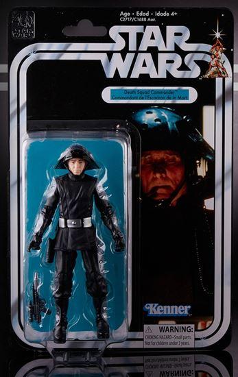 Foto de Star Wars 40th Anniversary Black Series Figuras 15 cm Death Squad Commander