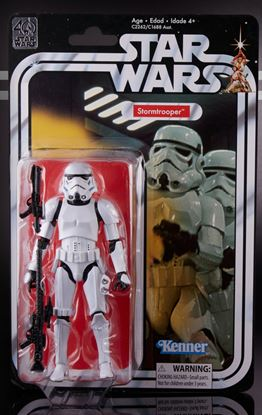 Imagen de Star Wars 40th Anniversary Black Series Figuras 15 cm Stormtrooper