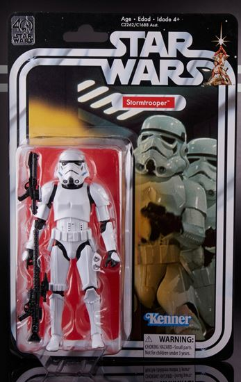 Foto de Star Wars 40th Anniversary Black Series Figuras 15 cm Stormtrooper