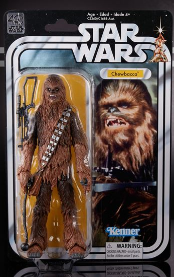 Foto de Star Wars 40th Anniversary Black Series Figuras 15 cm Chewbacca